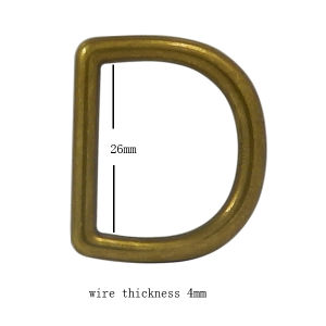 Alloy D Ring Use for Handbag pictures & photos