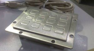Waterproof Metal Numeric Keypad 3X4 Layout (KMY3502J-1) pictures & photos