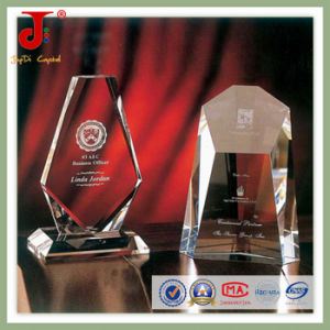 Design Sports Gold Blank Crystal Trophy (JD-CT-406) pictures & photos