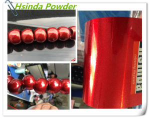 Red Spark Bonded Metallic Polyester Powder Coating pictures & photos