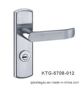 (KTG-5708-012) Satin Finish High Quality SUS304 Door Handle with Plate pictures & photos