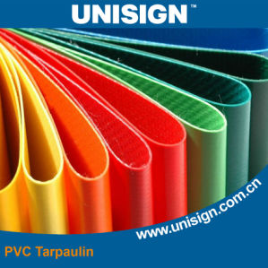 Grade 5 Anti-UV PVC Tarpaulin pictures & photos