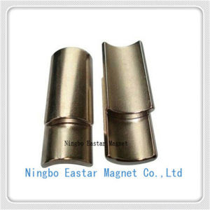N35uh Neodymium Mortor Magnet with Zinc Plating (SC-17) pictures & photos