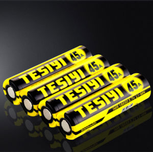 High Quality Lithium 3.7V 3000mAh Tesiyi 18650 Battery 45A