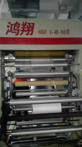 Second Hand Computer Control Rotogravure Printing Machine for Plastic Film pictures & photos