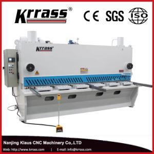 E 21 S QC 12 K Hydraulic CNC Guillotine Shearing Machine