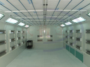 Electric Lamp Spray Paint Booth Wld6000 with Ce pictures & photos