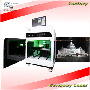 High Frequency Laser Engraving Inside Machine for Crystal Photo pictures & photos