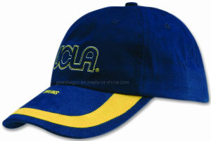 Custom Brushed Cotton Sports Cap with Ucla Logo pictures & photos