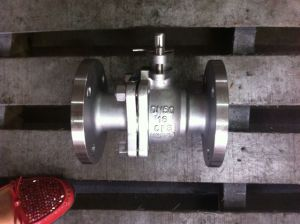 API Standard Flange End Ball Valve