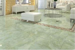 600X600 Floor Porcelain Ceramic Tile Marble Copy Glazed Polished Nano, Building Material Vitrified Porcelain Tile Foshan 800X800 pictures & photos
