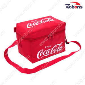 Promotional Cheap Insulated Ice Can Cooler Bag with Shoulder Strap pictures & photos