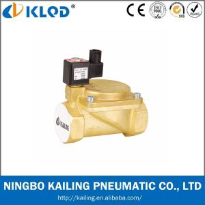 Klqd Brand 0927 Brass Material High Pressure Solenoid Valves pictures & photos