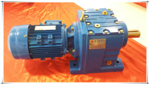 Helical Inline Gearboxes with 7.5kw Electric Motor R Series