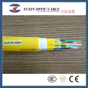 96 Fibers LSZH or PVC Single Mode Indoor Breakout Cable/Big Fibers Count Indoor Cable