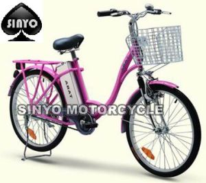 Classic Efficient Nice Girl′s E-Bicycle pictures & photos