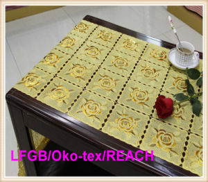 New Design PVC Lace Rolls/Tablecloth in Roll/ Table Runner/PVC Doily Wholesale pictures & photos