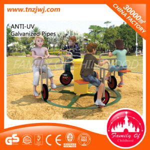 Kindergarten Playground Children Play Merry Go Round Equipment pictures & photos