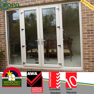 Garden UPVC French Doors with Side Panels Ropo2031 pictures & photos