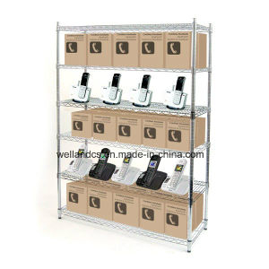 Chrome Heavy Duty Metro Store Wire Shelving - Load 800lbs / Shelf (HD184872A6C) pictures & photos