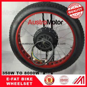 500W 1000W 3000W 6000W Fat Bike Ebike Wheelset Electric Fatbike Wheelset