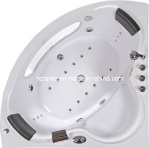 Corner Massage Jacuzzi Bathtub with Ozone Function (CDT-001) pictures & photos