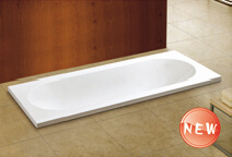 Cupc High Quality Simple Drop-in Bathtub (WTM-02818) pictures & photos