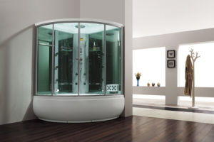 Monalisa Popular Steam Room with Massage Bathtub Together (M-8272) pictures & photos