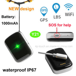 Waterproof IP67 GPS Tracking Device with Sos Button for Emergency Y21 pictures & photos