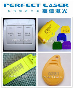 Qr Code Laser Printing Machine with Ce SGS pictures & photos