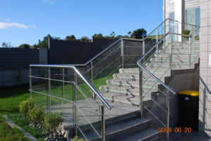 DIY Cable Railing / Wire Rope Railing Balustrade with Stainless Steel Wire Ropes pictures & photos
