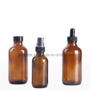 Glass Bottles, Amber Glass Boston Rounds 2oz 60ml pictures & photos