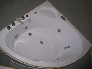 CE ISO9001 2 Pillow ABS Jacuzzi Tub (CL-338) pictures & photos