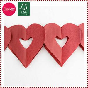 Heart Shape Paper Garland