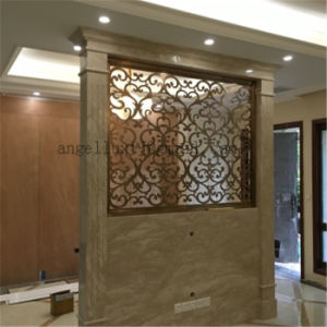 New Style Decorative Metal Screen 304 Stainless Steel Wall Panel Folding Screen to Divide Room pictures & photos