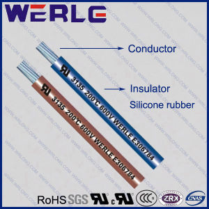 UL 3135 AWG 24 Silicone Rubber Insualted RoHS Wire pictures & photos