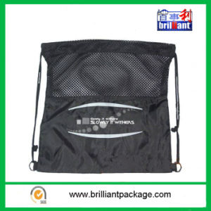 Customized Sizes and Designs Logo Drawstring Mesh Bags pictures & photos