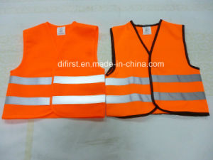 High Visibility Reflective Safety Vest for Children pictures & photos