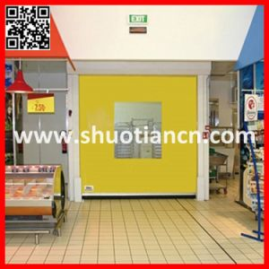 Cool Room High Speed Roll up Freezer Door (ST-001) pictures & photos