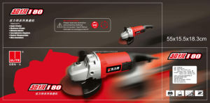 Ulite Design Good Sales High Quality 180mm Angle Grinder Power Tools 8375u pictures & photos