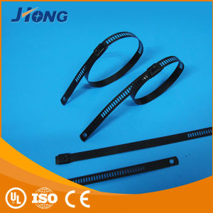 Plastic Coated 316 Steel Ladder Ties Metal Cable Ties pictures & photos