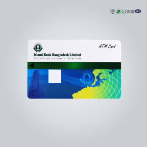 Competitive Contact/ Contactless Magnetic Stripe ATM Card pictures & photos
