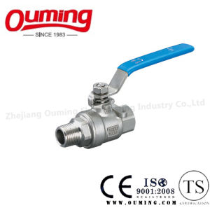 Stainless Steel Ball Valve with Male/Female Thread End pictures & photos