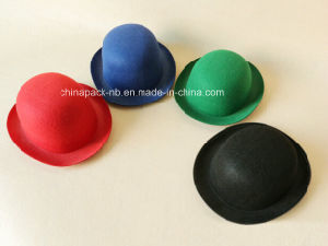 100%Polyester Felt Derby Bowler Festival Hats (CPPH_005) pictures & photos