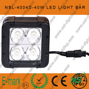 """40W 4.6"""" IP68 CREE LED Work Light Bar, Double Row 4LEDs 4*4 Offroad Fog Lightbar! pictures & photos"""