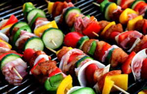 Commercial Stainless Steel Gas BBQ Grill Machine (GBBQ-214) pictures & photos