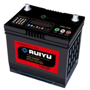 Korea Quality 55D23r 12V60ah Car Battery for Starting Atomobiles pictures & photos