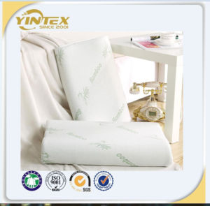 China Manufacturer Memory Foam Bamboo Cover Pillow pictures & photos