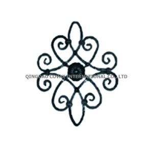 Craft Iron Rosette 11055 Steel Flower Panel pictures & photos