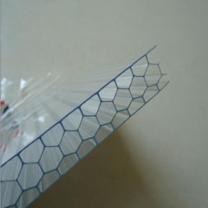 Low Price Transparent Honeycomb Plastic Roofing Sheets pictures & photos